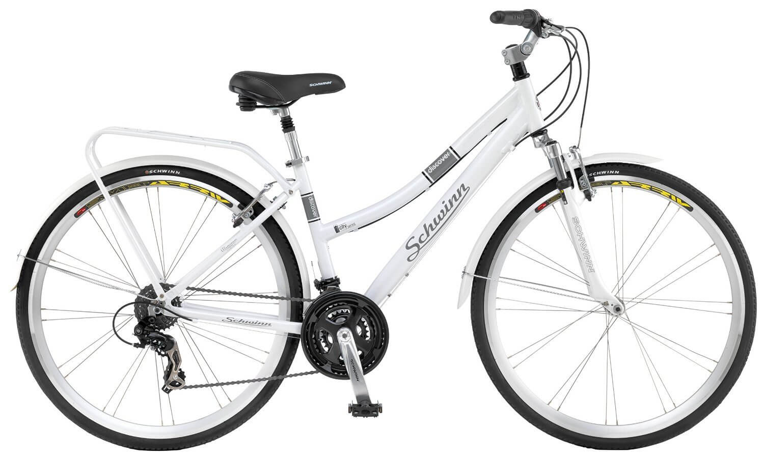 Schwinn Discover Women\'s Hybrid Bike (700C Wheels) Review - Road ...